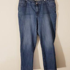 Women's Plus Size Denim Jeans - 24W